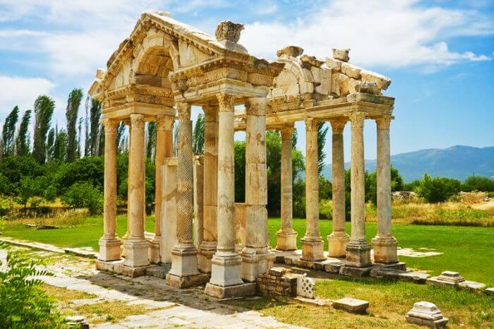 Aphrodisias is the city of Aphrodite - the goddess of love
