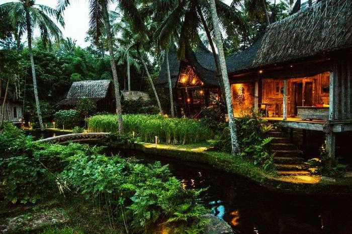 Bambu Indah resort in Bali