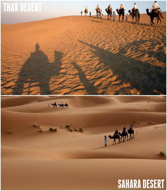 Desert in Jaisalmer-Sahara Desert