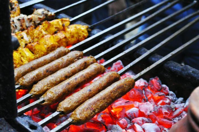 Famous food in Delhi — Kebabs