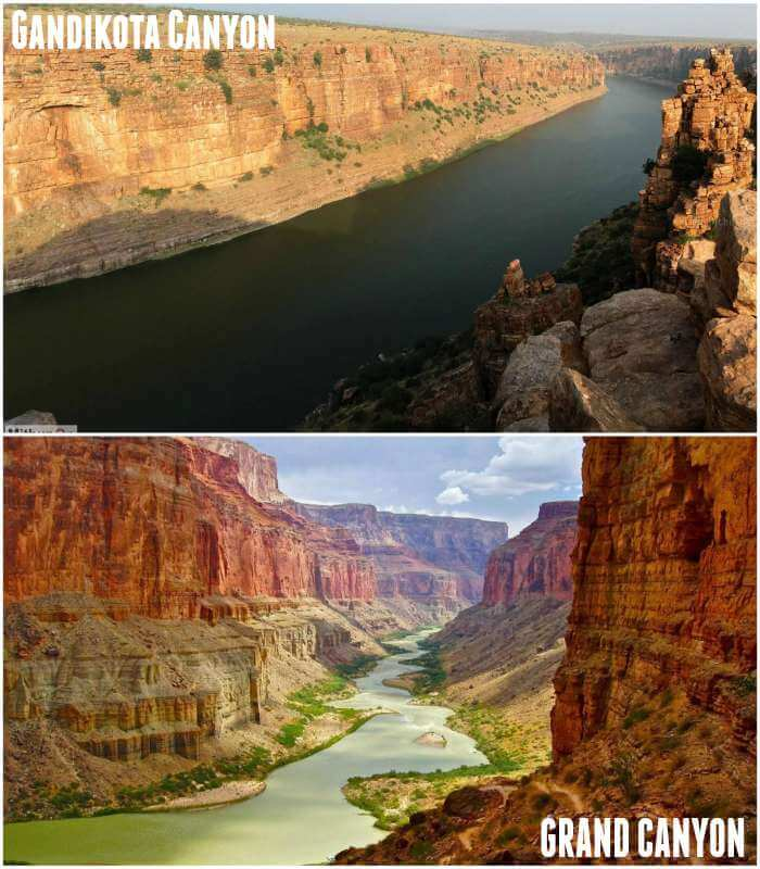 Grand canyons of India