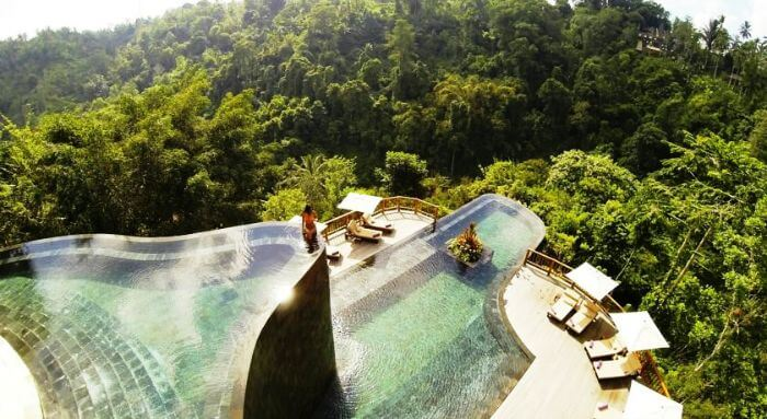 Hanging Gardens Ubud is one of the gorgeous water villas in Bali