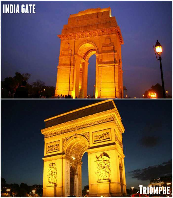 both the monuments looks similar