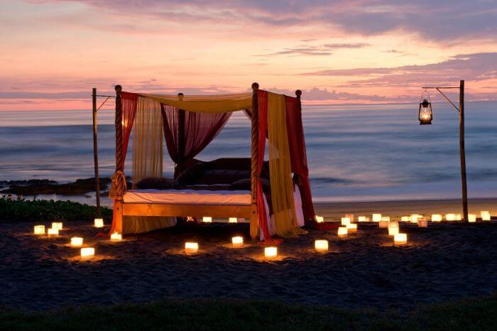 Fancy this for your honeymoon at Kuta Beach