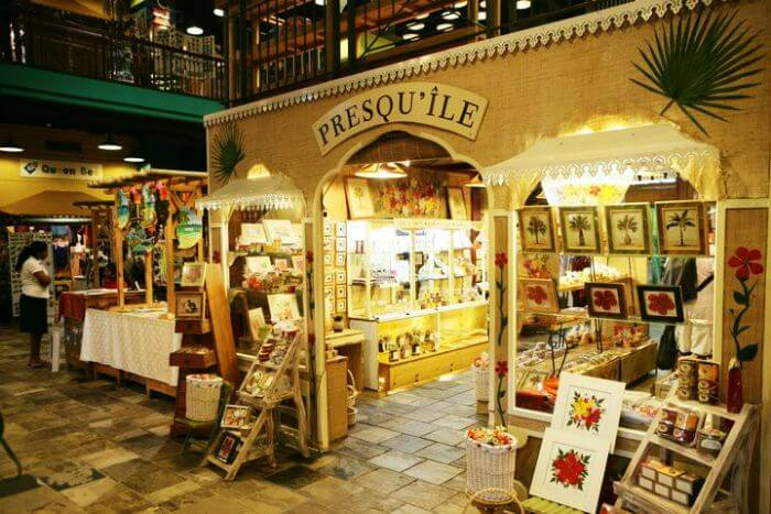 Presqueile at Le Craft Market in Caudan Waterfront