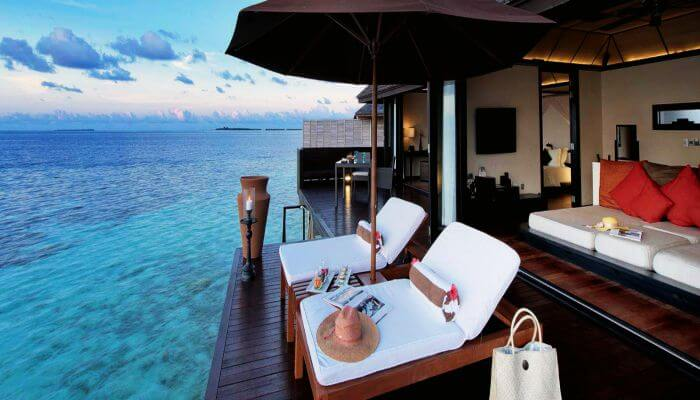 Tropical Island Beach Ambience Sound: Most Beautiful Over Water Villas In Maldives