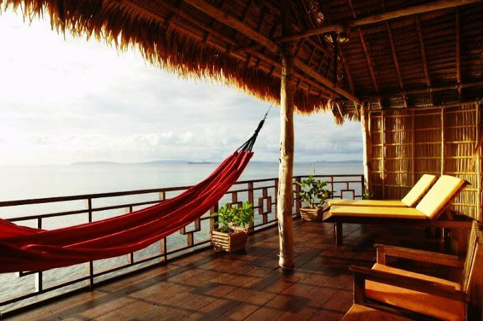Enticing settings at luxury over water hotel Papua Paradise Eco-Resort