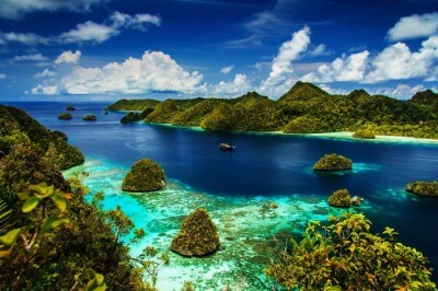 Raja Ampat Island in Indonesia