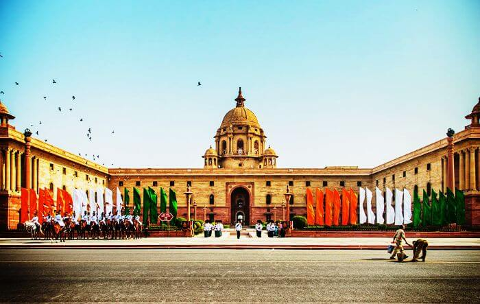 A Morning Ceremony At Rashtrapati Bhavan
