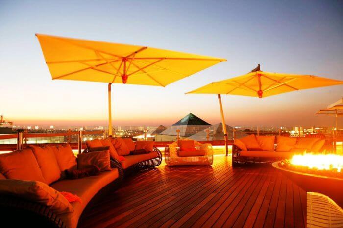 San Deck at Sandton Sun in Johannesburg