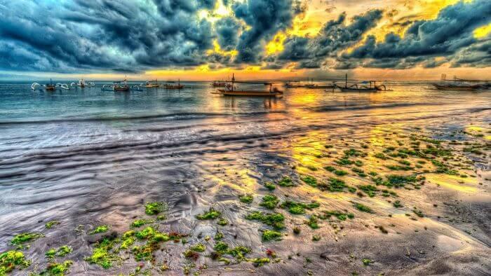 An evening at Sanur Beach
