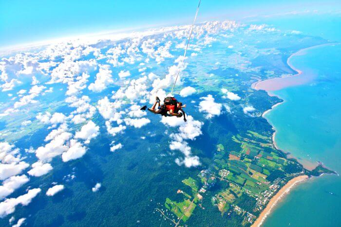 7bbc81822499 Skydiving In India  5 Best Locations For Exploring The Skies In 2019 ..  SHARES. The panoramic views of the sea below while sky diving in India