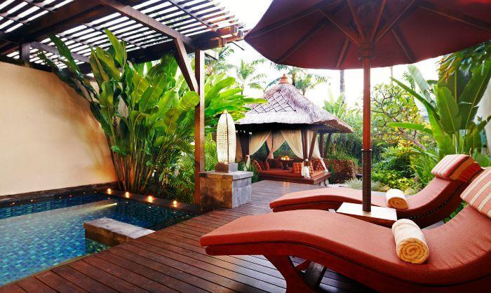 A romantic villa among Bali overwater hotels - St Regis Bali
