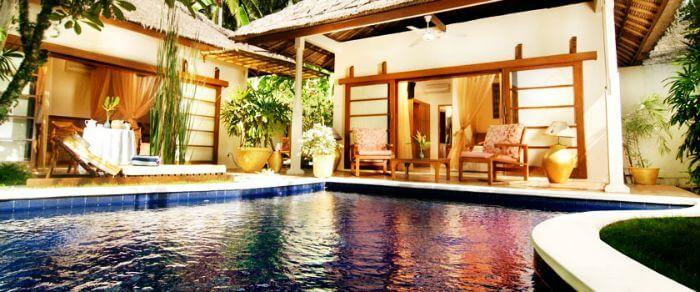 Luxury suite at The Watergarden over water villa in Bali