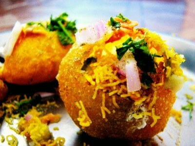 The best street food in Delhi