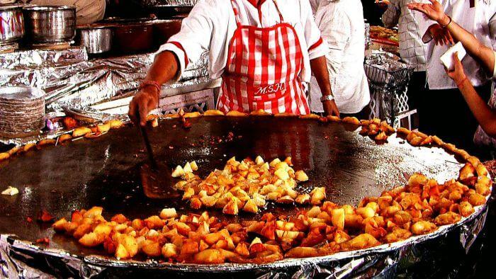 Image result for street food of delhi