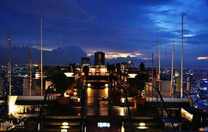 Vertigo and Moon Bar in Bangkok