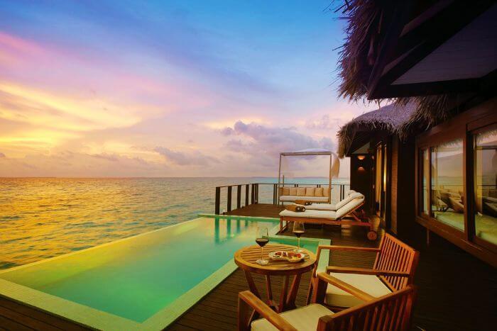 Super Deluxe Aqua Villa with Pool at Maldives water villa, Zitahli Kuda Funafaru