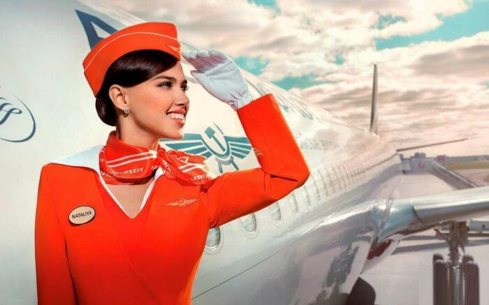 An air hostess gets to travel across the world