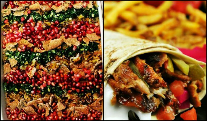 Traditional UAE food