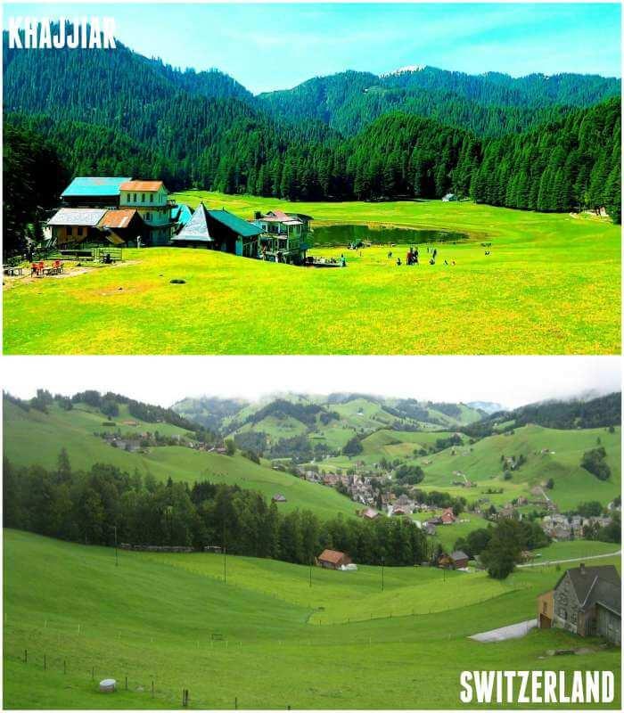 khajjiar and switzerland share same sense of beauty