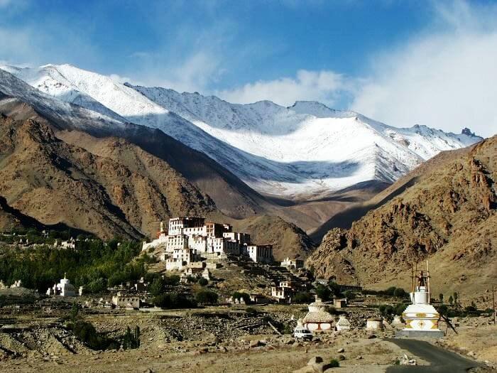 Alchi monastery on the lamayuru-alchi trek