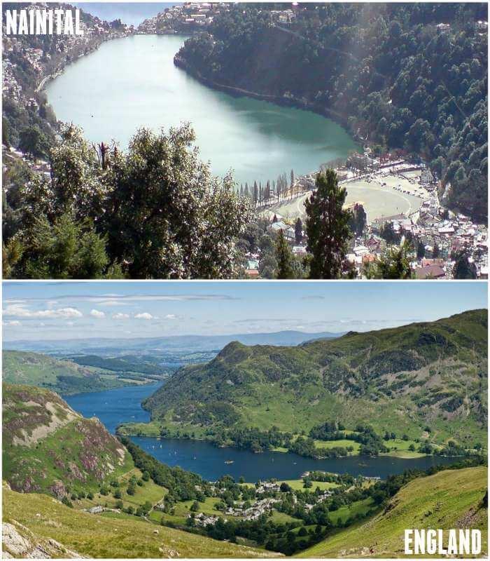 lake distt and nainital are same