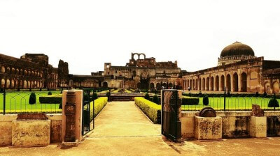 A gorgeous view of the Bidar Fort