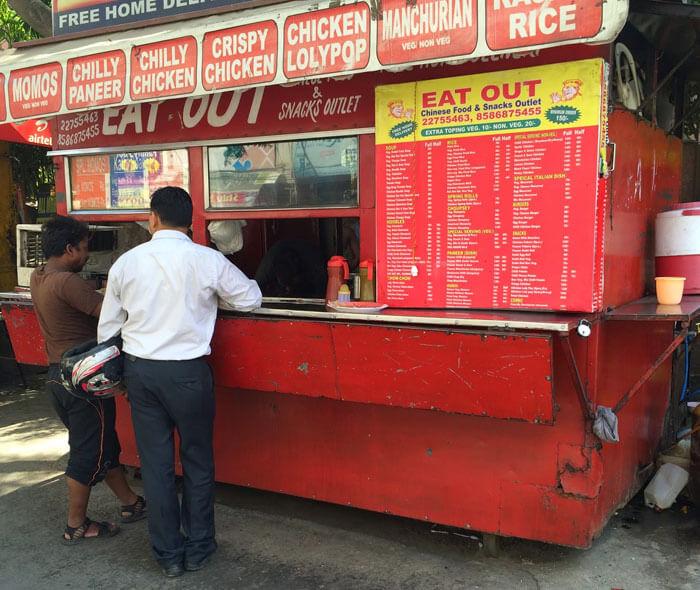 Food Van at Chhatra Marg