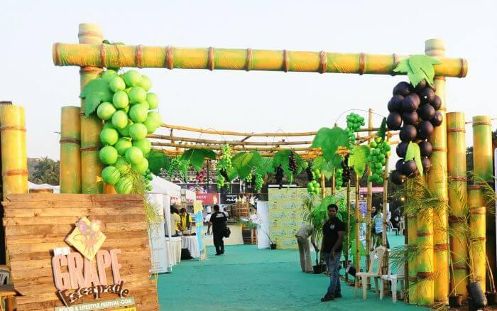 The Grape Escapade of one of the most unique wine tasting festivals in Goa & in India
