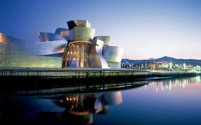 Stunning Guggenheim Museum by the sea