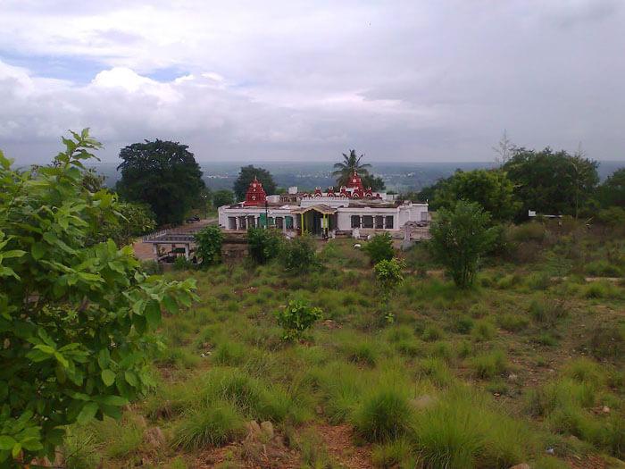The temple of Vishnu embraced in Karighatta hill