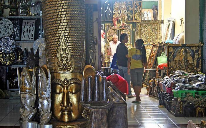 Kereneng Pasar is the second largest traditional shopping center in Bali