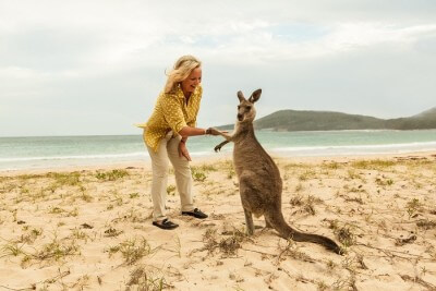 Lyndey-Milan-feeds-kangaroo
