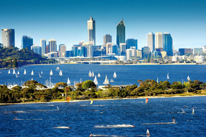 Perth is not to be missed out of many awesome honeymoon places in Australia