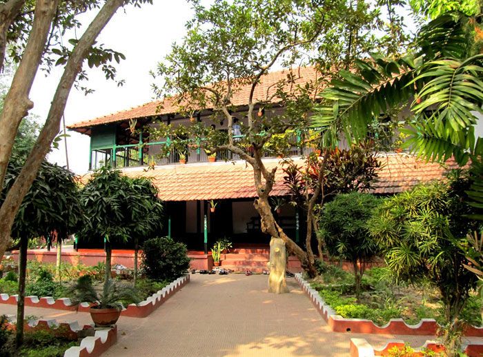 The residence of Sarat Chandra Chattopadhyay