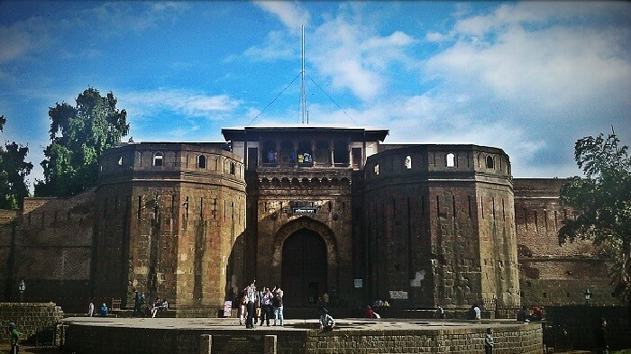 The entrance of Shantiwarwada Fort