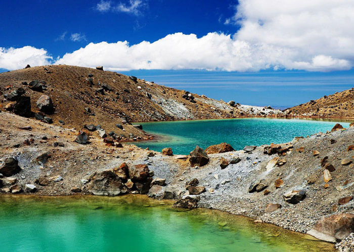 The stunning Beauty of Tongariro National Park is one of the best places to visit in New Zealand