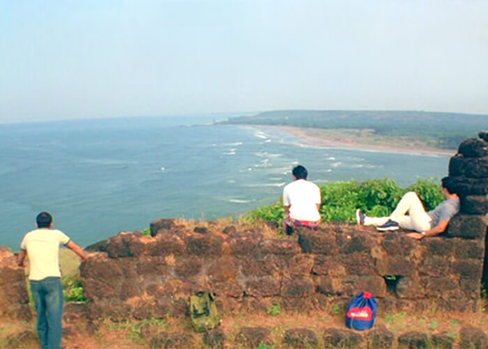 A snap of the trio from Dil Chahta Hai at Aguada Fort in Goa