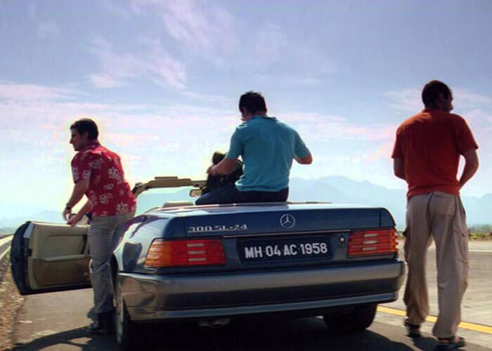 The road trip from Mumbai to Goa as captured in Dil Chahta Hai