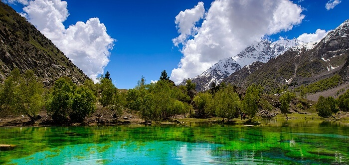 The beautiful Naltar Lake in Pakistan