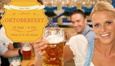 Oktoberfest is scheduled from 19th September to 4th October