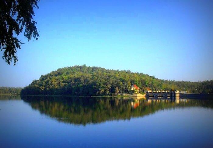 Lake at Khekranala
