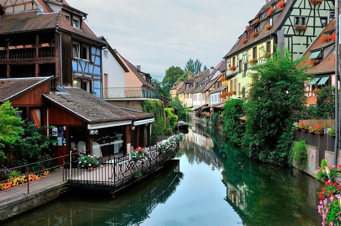 The picturesque canal city of Annecy in France