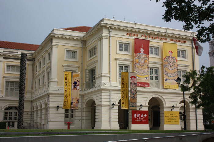Asian Civilizations Museum in Singapore