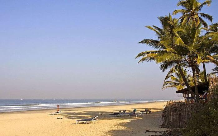 Benaulim Beach in Goa