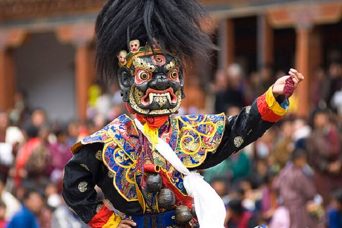 Bhutan festivals are rich in color and dramatics