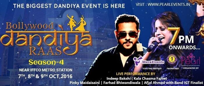 Bollywood Dandiya Raas 2016 at Kingdom Of Dreams