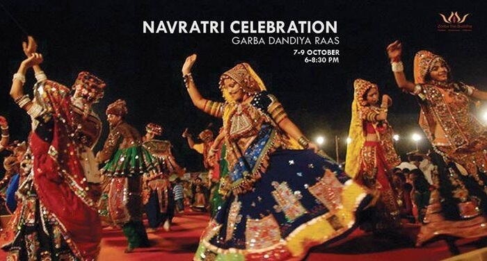 Garba Dandiya Raas celebrations at Zorba