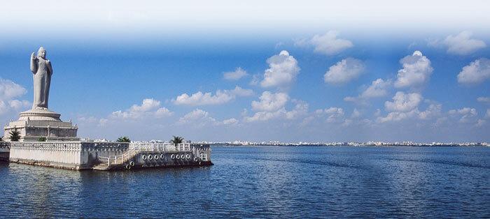 Stunning Hussain Sagar Lake